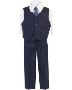 Charcoal Vest Sets