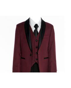 640 - Burgundy Tuxedo