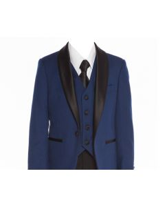 640 - Indigo Blue Tuxedo
