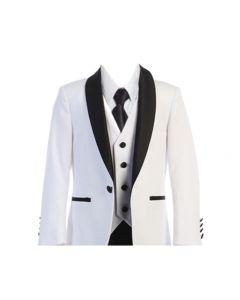640 - White Tuxedo
