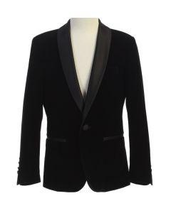 643 - Black Velvet Jacket