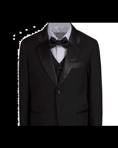 646 - Black Tailored Suit/Tuxedo.  Slim Fit. NEW