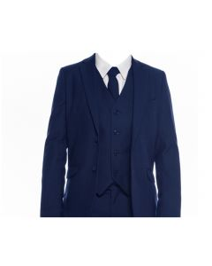 694 - Navy Suit. Slim Fit.