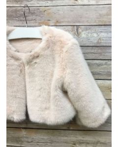 Faux Fur Jacket Deluxe (Blush Only)