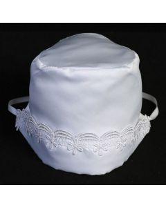 Girls Satin Bonnet
