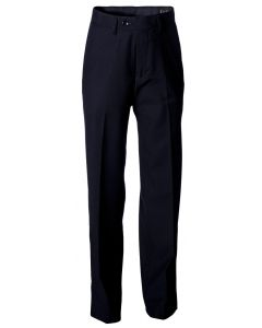 Slim Fit Trousers Black