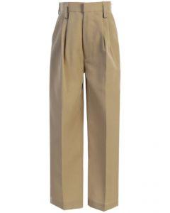 Regular Fit Trousers Tan/Khaki