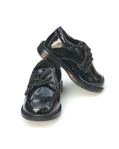 Boys Patent Leather Shoes Black